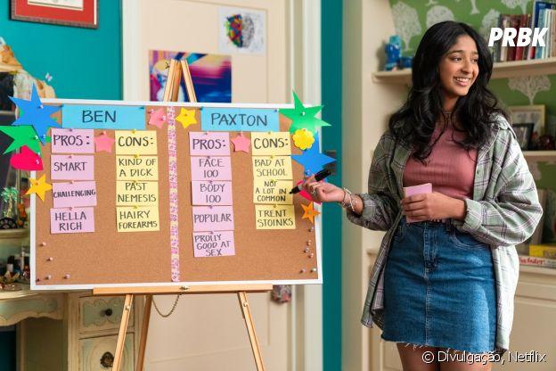 Devi fica dividida entre Paxton e Ben na 2ª temporada de 'Eu Nunca'