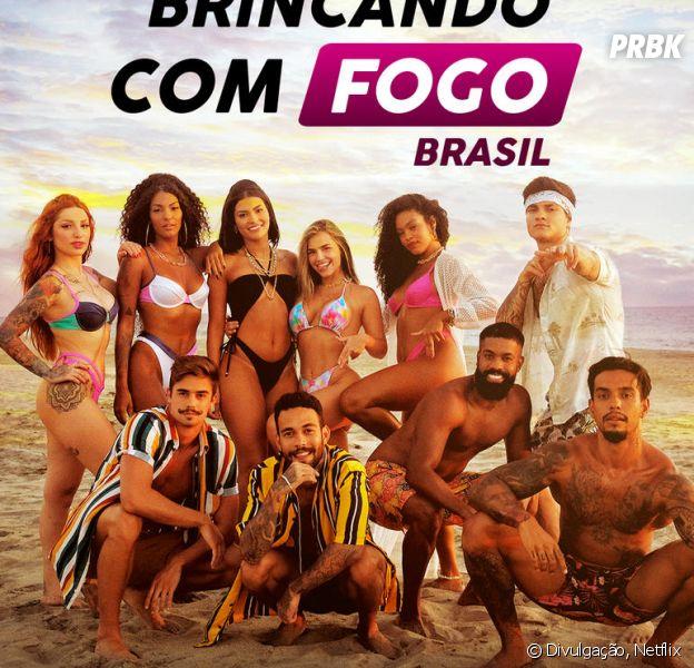 """""""Brincando com Fogo Brasil"""": confira o perfil no Instagram de cada participante do reality da Netflix"""