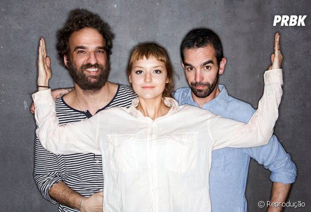 Banda do Mar: Mallu Magalhães, Marcelo Camelo e Fred Ferreira
