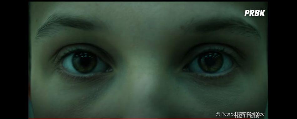 """""""Stranger Things"""": Eleven (Millie Bobby Brown) aparece em teaser da 4ª temporada. Até agora tivemos duas previews dos novos episódios."""