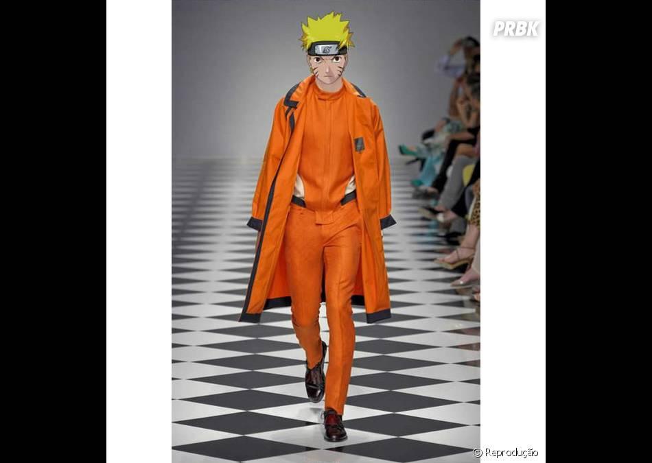 Este look até parece a roupa verdadeira de Naruto