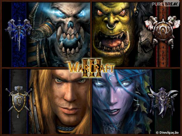 """Filme de """"Warcraft"""":guerra entre orcs, humanos, elfos e várias outras raças."""