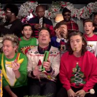 "One Direction entra no clima do Natal com sua versão da música ""Santa Claus Is Coming To Town"""