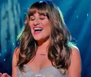"""Em """"Glee"""": Vídeo da cena em que Lea Michele canta """"Let It Go"""""""