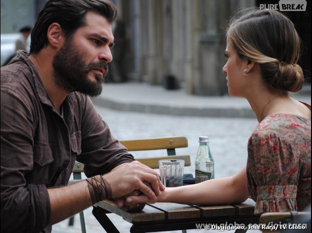"""Toni (Thiago Lacerda) e Hilda (Luiza Valdetaro) são um dos casais mais queridos de """"Joia Rara"""""""