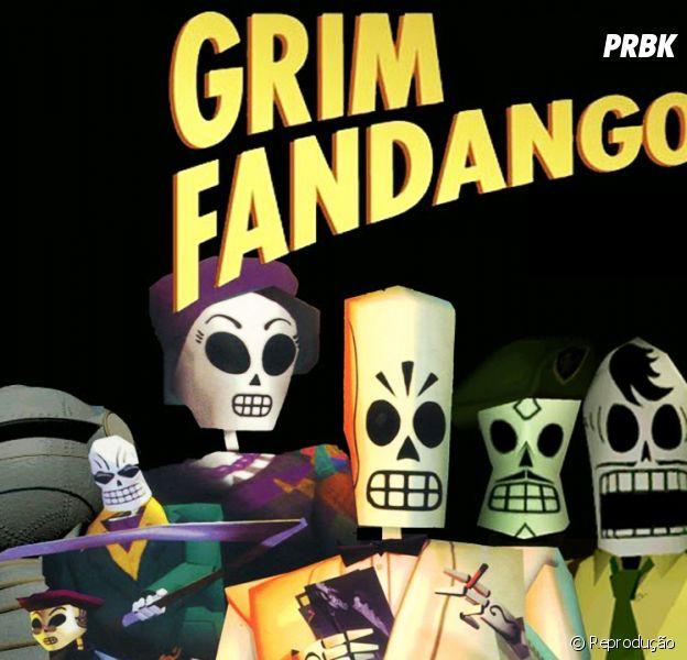 """Novos gráficos em """"Grim Fandango Remastered"""" que será lançado para PS4 e computadores"""