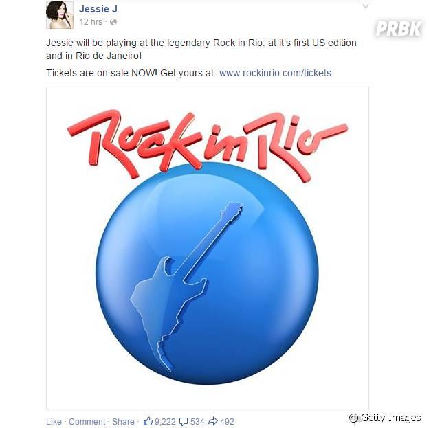 Jessie J no Rock in Rio 2015 Brasil
