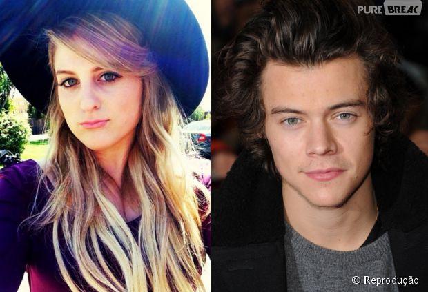 Meghan Trainor e Harry Styles, do One Direction, vão lançar parceria em 2015