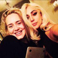Lady Gaga e Adele planejam parceria? Mother Monster publica foto ao lado da inglesa e fãs surtam