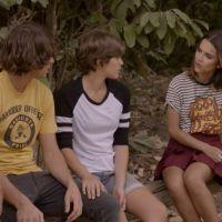 """Novela """"Malhação"""": Vicki (Manu Gavassi) pede beijo para Pedro (Rafael Vitti) durante brincadeira!"""