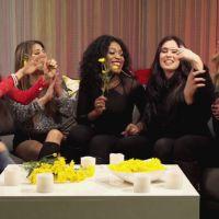 Integrantes da banda Fifth Harmony tentam escolher suas músicas favoritas de Demi Lovato