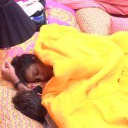 """No """"BBB 15"""": Debaixo do edredom, Rafael faz carinho em Talita e compara ela com princesa da Disney!"""