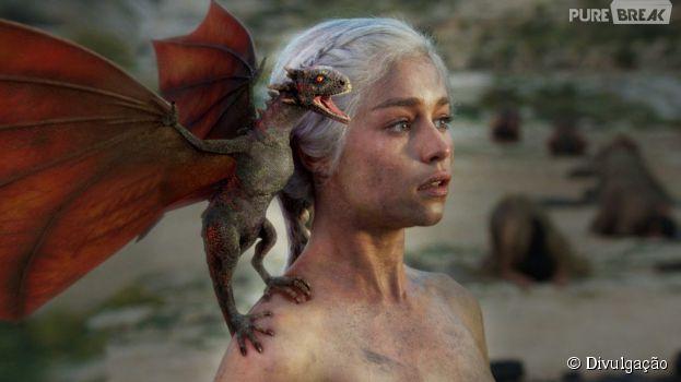 """Vídeo mostra como é o processo de criação dos dragões de """"Game of Thrones"""""""
