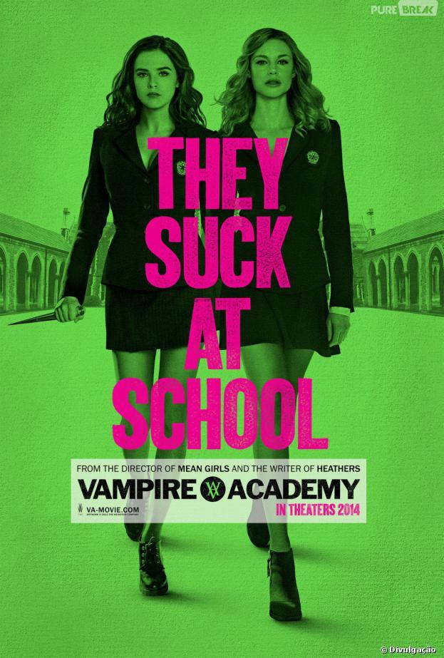 """""""Vampire Academy: Blood Sisters"""" é uma das adaptações mais aguardadas pelos fãs!"""