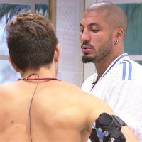 """No """"BBB15"""": Cézar opina sobre risco de Fernando e Aline irem para o paredão juntos"""