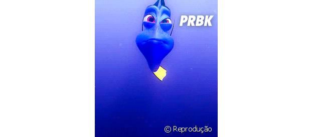 """Dory de """"Procurando Nemo"""""""