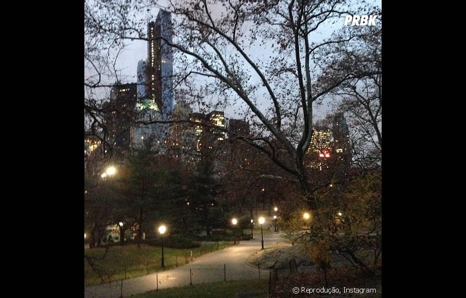 Fiorella Mattheis compartilhou com seus seguidores imagem de passeio em Nova York