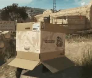 """A caixa de papelão está de volta em """"Metal Gear Solid V: The Phantom Pain"""""""