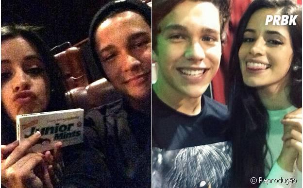 Camila Cabello e Austin Mahone viveram um namoro relâmpago