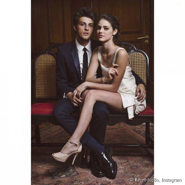 Laura Neiva e Chay Suede no Instagram: Atriz se declara para o namorado na rede social