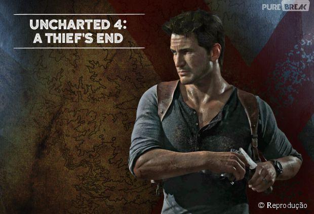 """""""Uncharted 4"""" tem atraso no lançamento e chega apenas em 2016"""