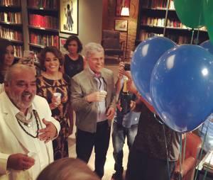 """Nas gravações do último capítulo de """"Império"""", elenco faz a festa e compartilha fotos nas redes sociais"""