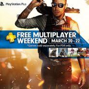 PlayStation 4 terá multiplayer online de graça por um fim de semana