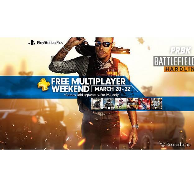 PlayStation Network vai ficar disponível gratuitamente para PS4 nos dias 20, 21 e 22 de março