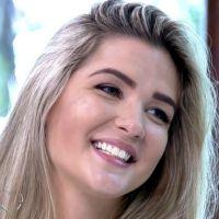 """Ex """"BBB15"""" Aline confessa no """"Mais Você"""" que não aceita traição de Fernando e Amanda"""