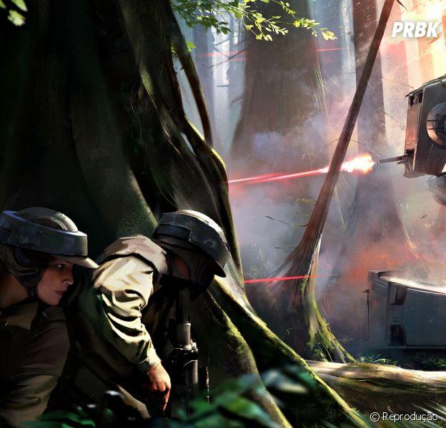 """Game """"Star Wars Battlefront"""" será lançado em abril no """"Star Wars Celebration""""!"""