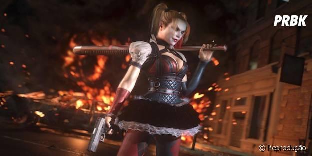 """Harley Quinn será personagem jogável em um DLC de """"Batman: Arkham Knight"""""""