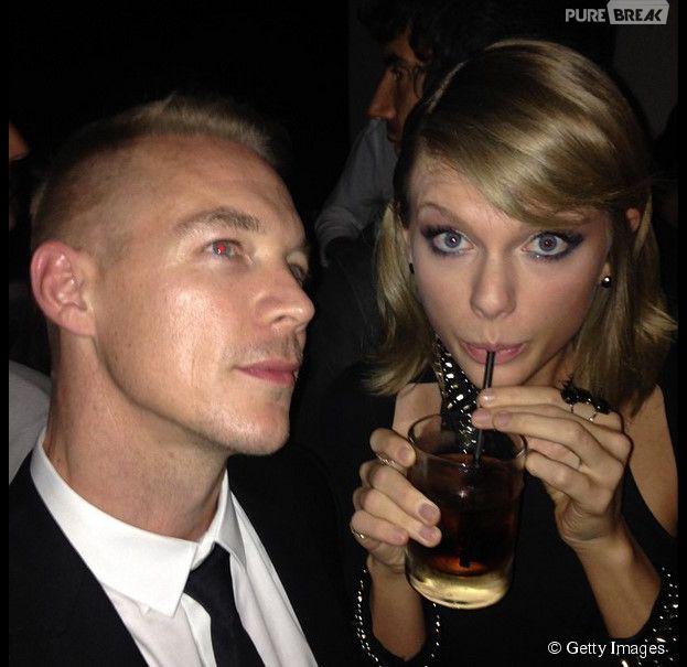 Diplo publica foto com Taylor Swift em seu Instagram e fãs piram