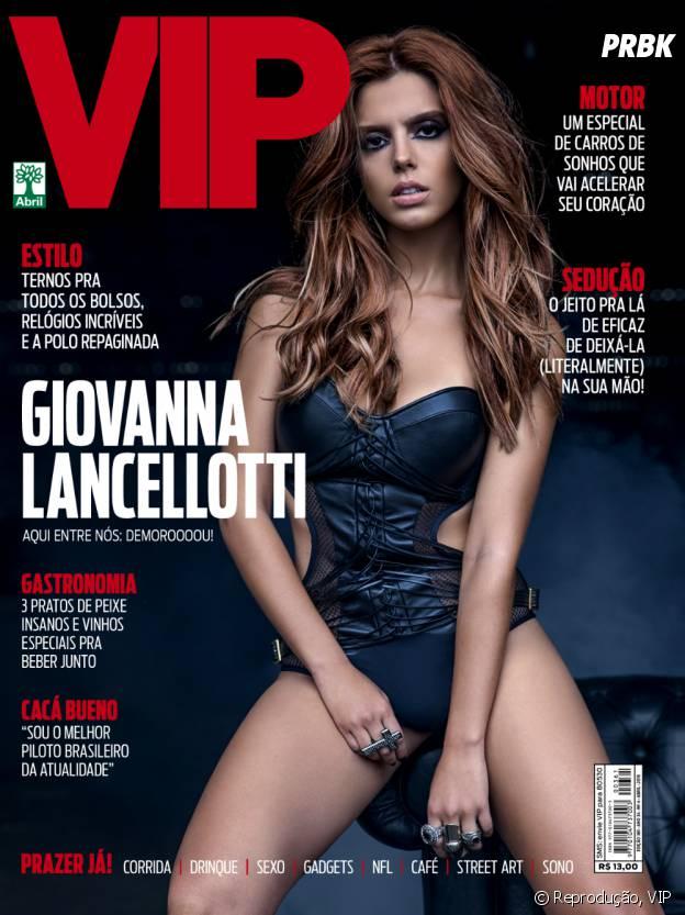 Giovanna Lancellotti na VIP: veja fotos e entrevista da edição de abril!