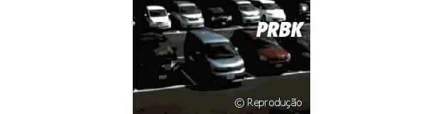 O estacionamento já está lotado no Lollapalooza 2015