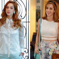 """Novela """"Alto Astral"""": Sophia Abrahão aparece caracterizada com novo look da mocinha Gaby"""