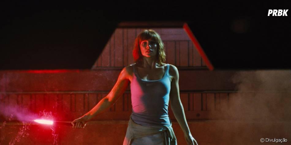 """Além de Chris, a atriz Bryce Dallas Howard também dá as caras no elenco de """"Jurassic World"""""""