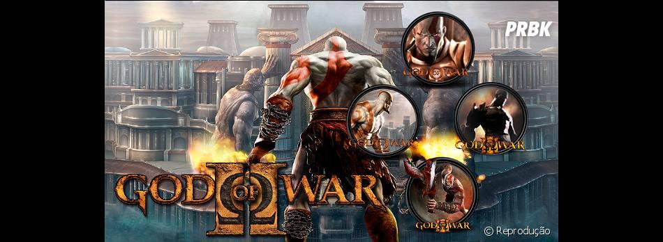 """Uma coletânea de """"God Of War"""" na versão para PS Vita"""