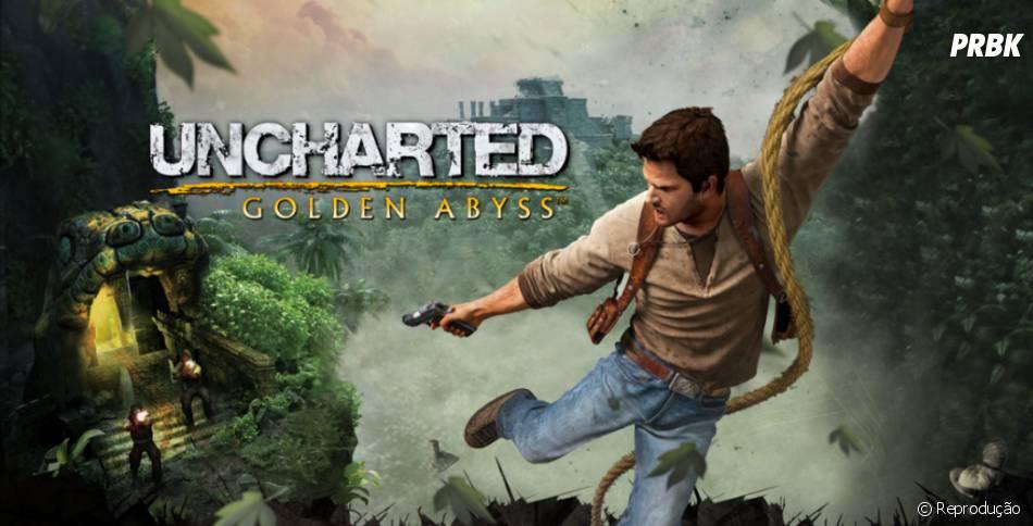"""PS Vita tem sua versão do game exclusivo com """"Uncharted: Golden Abyss"""""""