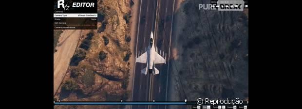 "Rockstar Editor está cheio de filtros para ""GTA V"""