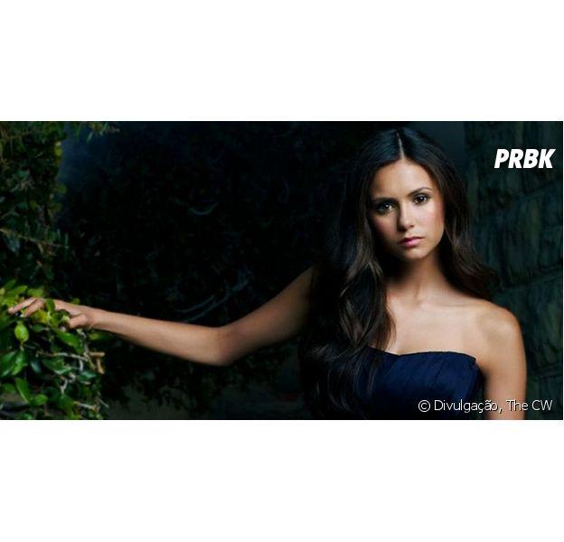 """Em """"The Vampire Diaries"""": Nina Dobrev, Kat Graham e Michael Trevino na despedida da atriz da série"""