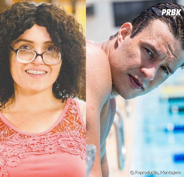 """Em """"Alto Astral"""", Ricardo (Nando Rodrigues) vai descobrir que Cidinha (Monica Iozzi) é Scarlett"""