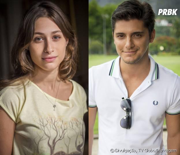 """Em """"Babilônia"""", Guto (Bruno Gissoni) e Laís (Luísa Arraes) vão sair juntos"""