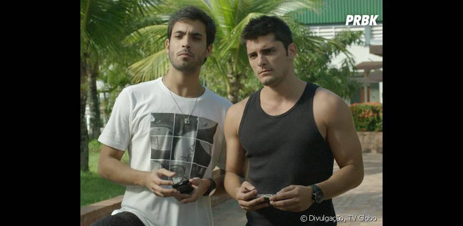"""Em """"Babilônia"""", Guto (Bruno Gissoni) quer separar Laís (Luísa Arraes) de Rafael (Chay Suede)"""