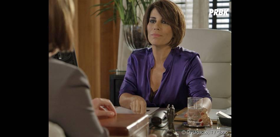 """Em """"Babilônia"""", Beatriz (Glória Pires) sempre participa de atividades ilegais"""