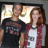 Sophia Abrahão e Sérgio Malheiros assumem namoro e chegam de mãos dadas em evento no Rio de Janeiro