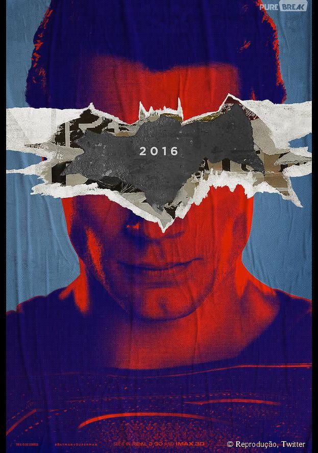 """Henry Cavill interpreta o mocinho Superman, em """"Batman V Superman: A Origem da Justiça"""""""