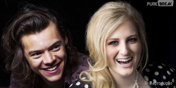 Meghan Trainor fala sobre dueto com Harry Styles e elogia o amigo