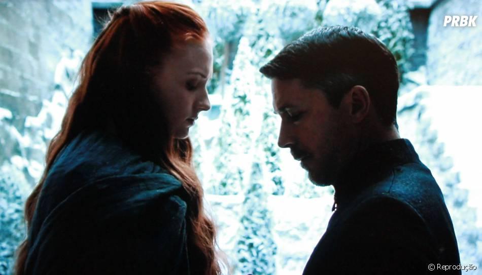 """Baelish (Aidan Gillen) confessou que é apaixonado por Sansa (Sophie Turner) na 4ª temporada de """"Game of Thrones"""""""