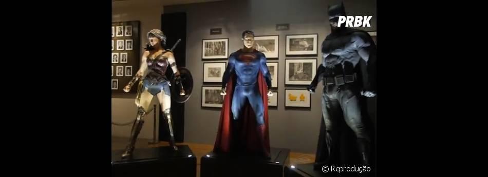 """""""Batman V Superman"""" também já ganhou um vídeo com detalhes dos uniformes dos super-heróis"""