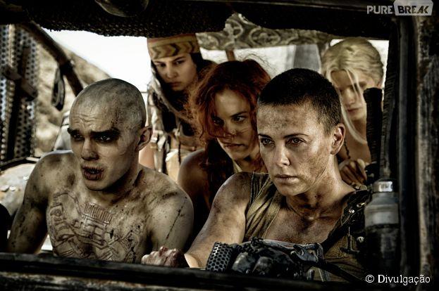 """""""Mad Max: Estrada da Fúria"""" acaba de ganhar uma nova leva de imagens"""